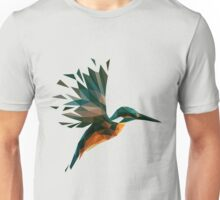 Low Poly Kingfisher Unisex T-Shirt