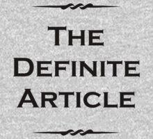 The Definite Article Kids Tee