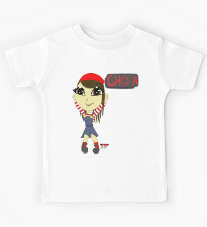 Cho a (dancing all night) Kids Tee