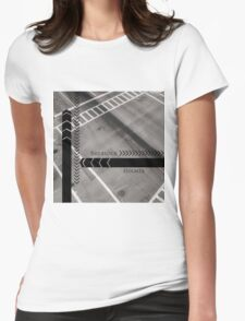 Sherlock- Mind Palace Directions Womens Fitted T-Shirt