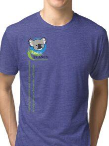Koala Clancy Foundation - green text Tri-blend T-Shirt