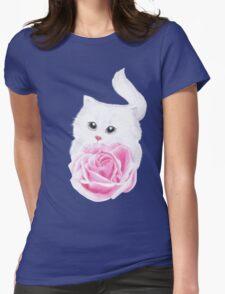 Inside my little heart Womens Fitted T-Shirt