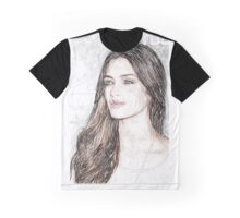 Gtres - Colored Pencil Art Graphic T-Shirt