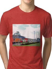Fire Station, Wishart, Queensland, Australia Tri-blend T-Shirt