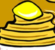 Banana Pancakes Jack Johnson Sticker