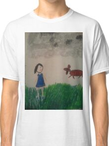 oil pastel drawing Classic T-Shirt