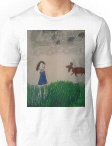 oil pastel drawing Unisex T-Shirt