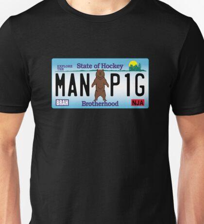 Man Bear Pig Plate Unisex T-Shirt