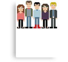 How I Met Your Mother Pixel Canvas Print