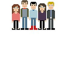 How I Met Your Mother Pixel Photographic Print