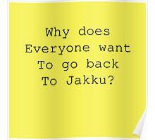 Back to Jakku? Poster