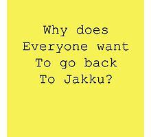 Back to Jakku? Photographic Print