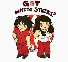 got white stripes? Unisex T-Shirt