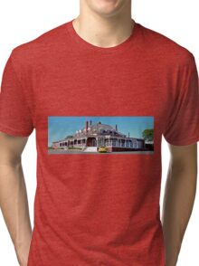 only one patron? (Panorama) Tri-blend T-Shirt