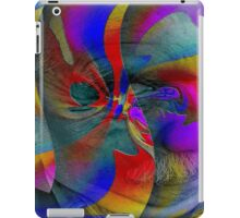 Stucco Look A Like Abstract Brilliance  iPad Case/Skin