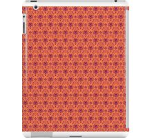 The Haunted Mansion Wallpaper - Orange/Red iPad Case/Skin