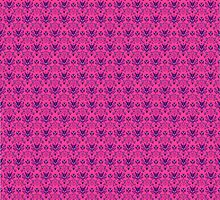 The Haunted Mansion Wallpaper - Pink/Violet by madradmitchell