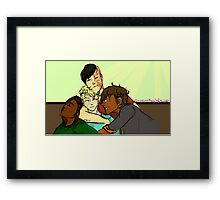 RvB GTA AU- Cuddly Boys  Framed Print