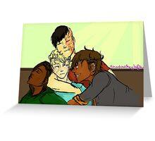 RvB GTA AU- Cuddly Boys  Greeting Card