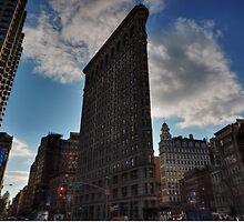 NYC - Flatiron Building 001 by Lance Vaughn