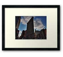 NYC - Flatiron Building 001 Framed Print