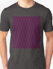 THEE Haunted Mansion Wallpaper - Deep Purple T-Shirt