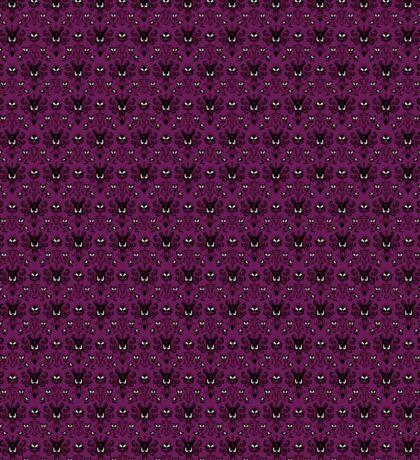 THEE Haunted Mansion Wallpaper - Deep Purple Sticker