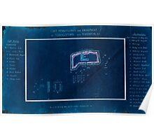 Civil War Maps 0392 Fort Pennsylvania and encampment at Tennallytown near Washington DC Inverted Poster