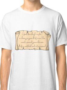 Grammar, Sirius Style Classic T-Shirt