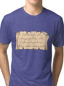 Grammar, Sirius Style Tri-blend T-Shirt