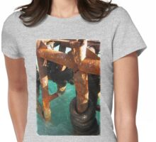 FERRY WHARF on Koh Samui Womens Fitted T-Shirt