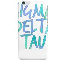 SDT SIGMA DELTA TAU iPhone Case/Skin
