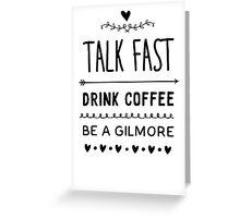 Gilmore Girls Greeting Card