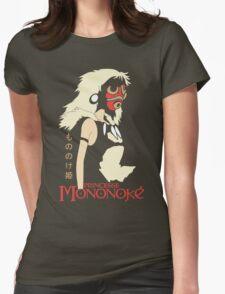 Princess Mononoke Hime, Anime Womens Fitted T-Shirt