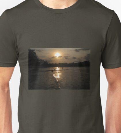 Golden Path to the Sun Unisex T-Shirt