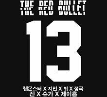 BTS THE RED BULLET (White) Unisex T-Shirt
