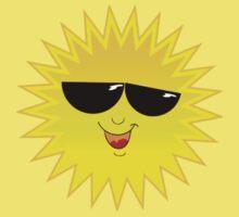 I Love Sunshine - Funny Cartoon Sun T-Shirt Solar Clothing Decal Kids Tee