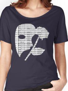 Phantom Music Sheet Women's Relaxed Fit T-Shirt