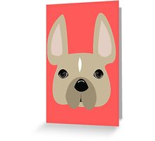 Personalized/ custom French Bulldog collection! Meet Thunder Greeting Card