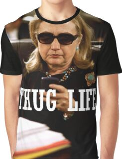 Throwback - Hillary Clinton Graphic T-Shirt