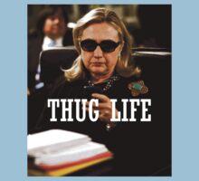 Throwback - Hillary Clinton One Piece - Short Sleeve