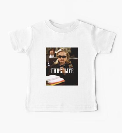 Throwback - Hillary Clinton Baby Tee