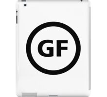 Gluten Free Symbol iPad Case/Skin