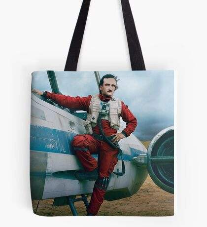 Edgar Allan Poe Dameron Tote Bag