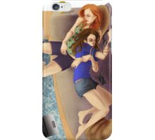 I'll hold you (no questions asked) iPhone Case/Skin