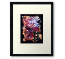 Derpy Doctor Galaxy Framed Print