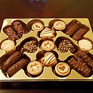 The Swiss Collection - Mini Chocolate Biscuits by BlueMoonRose