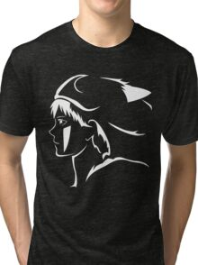 Princess Mononoke Anime Tri-blend T-Shirt
