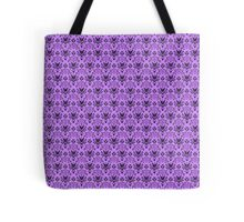 The Haunted Mansion Wallpaper - Light Purple  Tote Bag