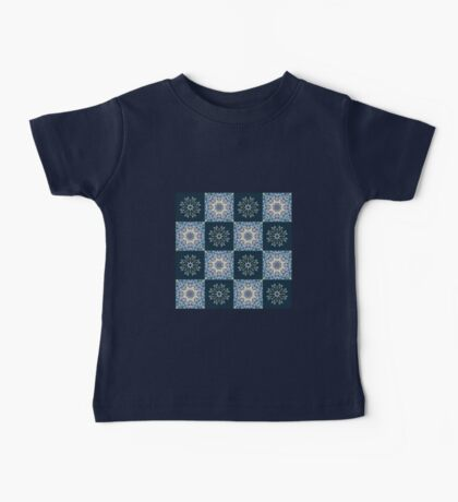 handdrawn abstract winter pattern Baby Tee